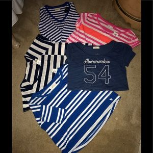 """""""NWT"""" 5/$60 ABERCROMBIE/HOLLISTER TOPS"""